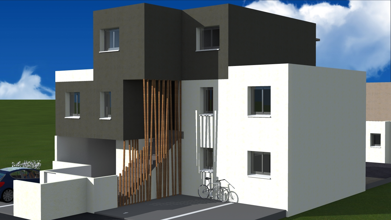 plan immeuble 8 appartement