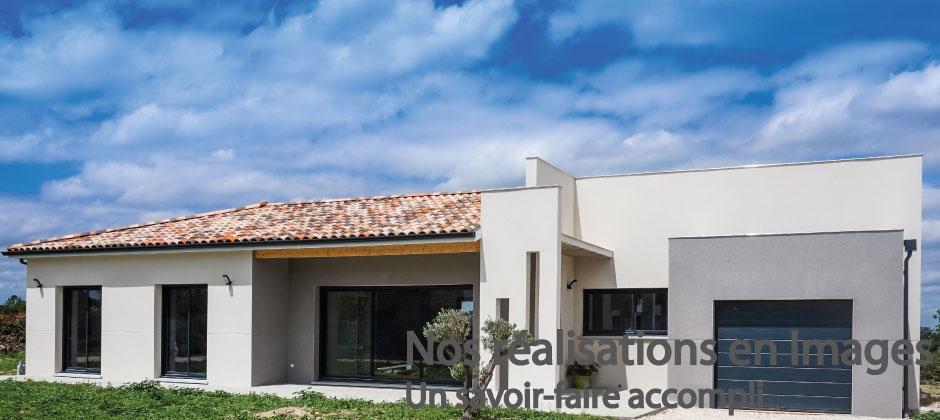 Constructions muretaines constructeur maison toulouse 31 - Constructeur maison contemporaine toulouse ...