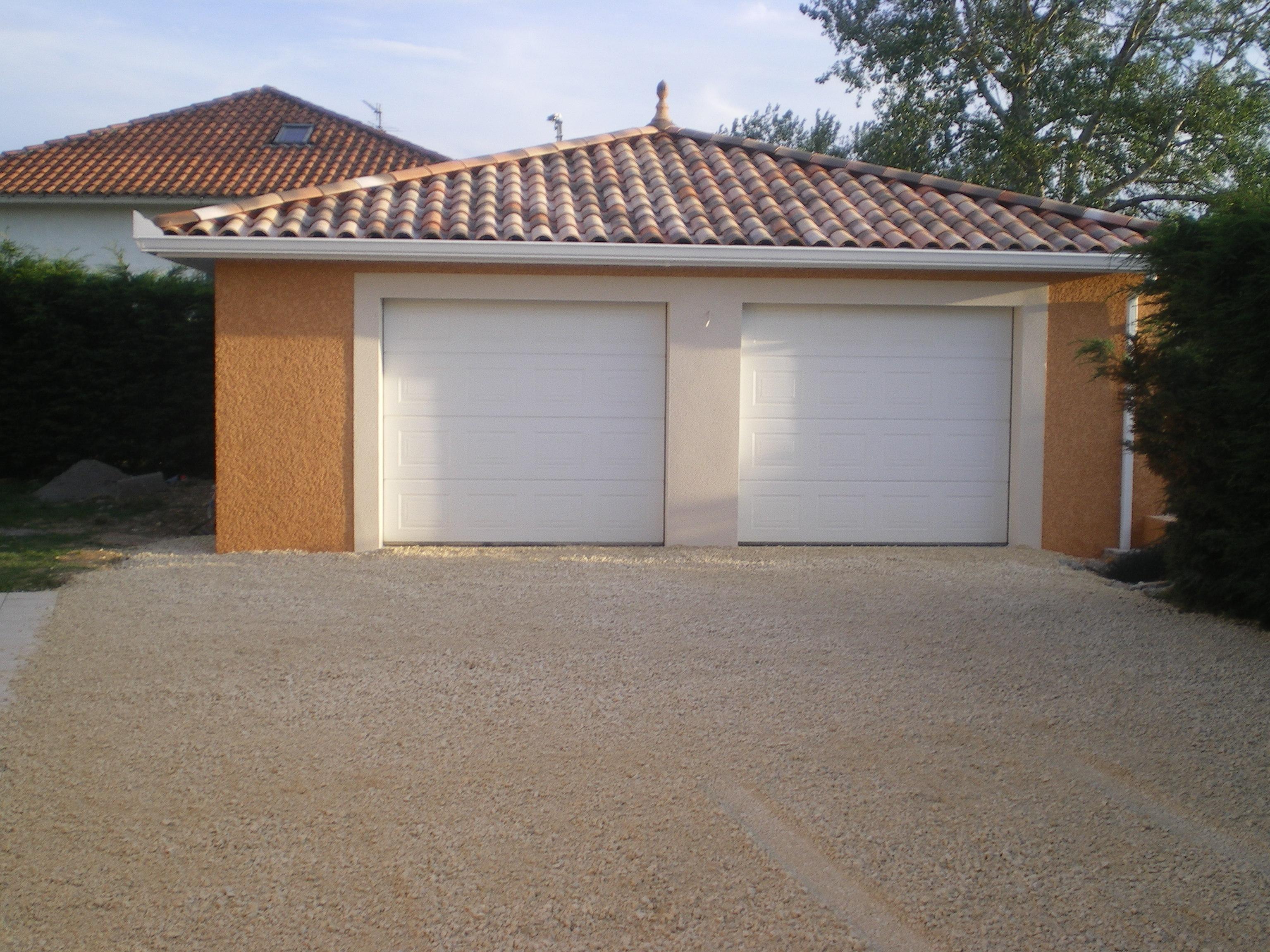 Exemple de construction d 39 un garage for Reglementation construction garage