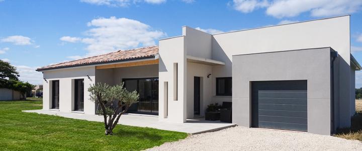 Maison contemporaine de 110 m2 à Lherm 1