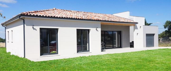 Maison contemporaine de 110 m2 à Lherm 2