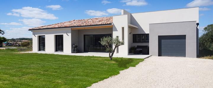 Maison contemporaine de 110 m2 à Lherm 3