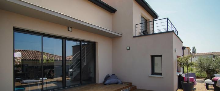Maison contemporaine de 124 m2 à Saint-Jean 3