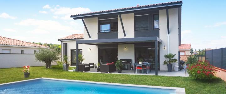 Maison contemporaine de 160 m2 à Pechabou 1