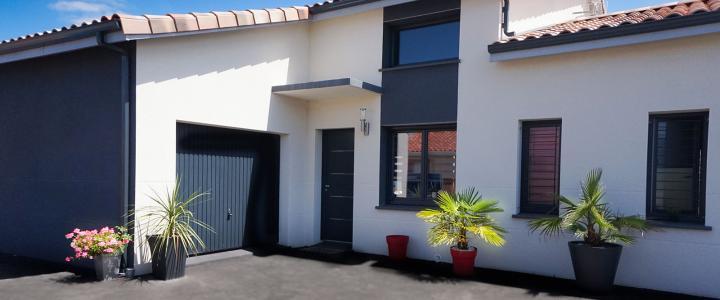 Maison contemporaine de 160 m2 à Pechabou 2