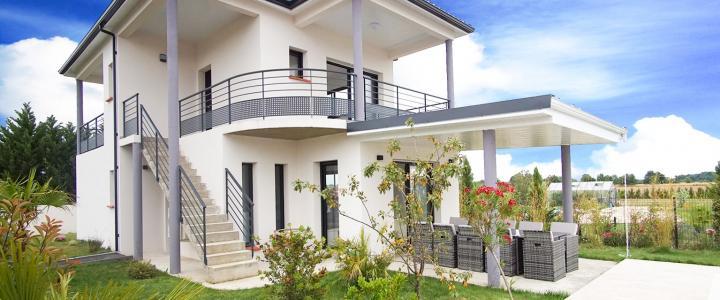 Maison contemporaine de 86 m2 à Longages 3